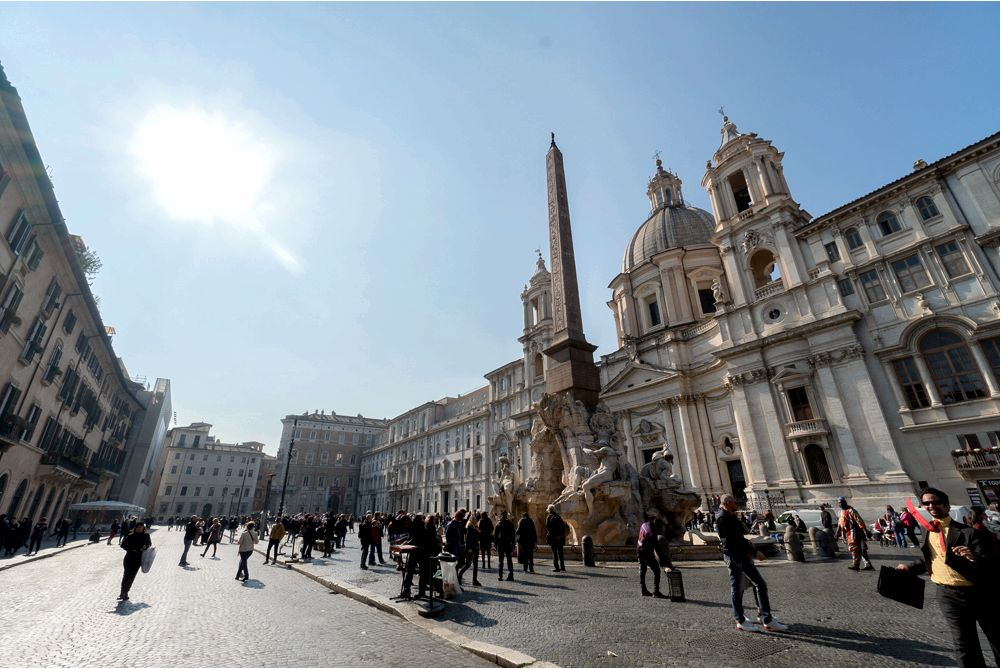 Piazza Navona - one of the most beautiful squares in Rome