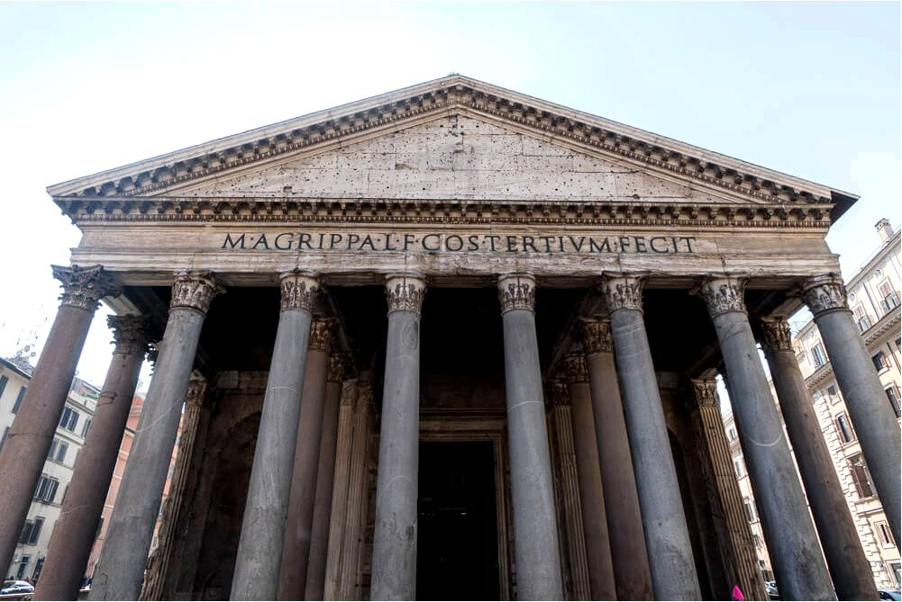 The Pantheon - essential for any itinerary of 2 days in Rome